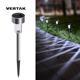 VERTAK Outdoor Pathway Landscape Lights LED Solar Lawn Lights for Garden, Yard, and Driveway