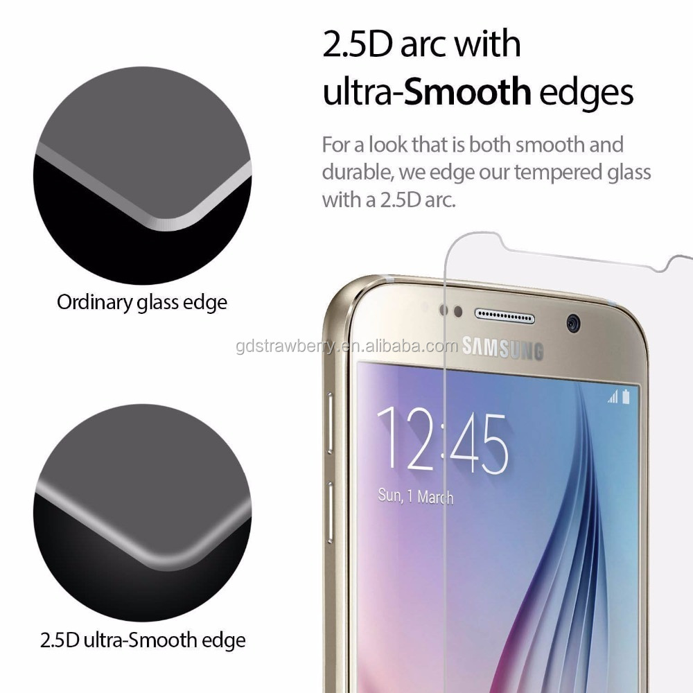 New tempered glass screen protector for sumsung mobile phone
