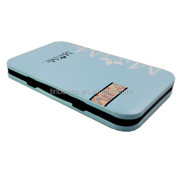 high quality wholesale small tin metal cigarette case