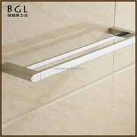 courier service fast delivery bathroom accessories double towel bar zinc alloy