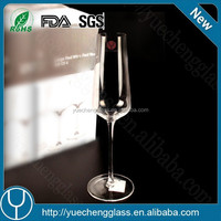 Best selling promotional cheap crystal clear industries glassware square wine glass for wholesale