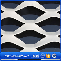 Aluminum galvanized expanded metal plate and roll