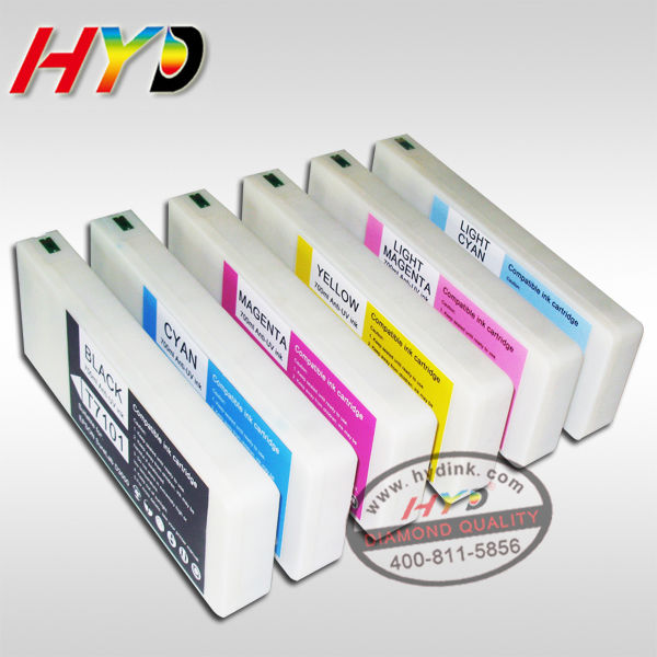 HYD Compatible,Non OEM products,T7104 Yellow ink cartridge for Epson surelab D3000 printer,Plug&play