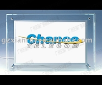 3 YEARS Warranty Led Crystal Sign Board