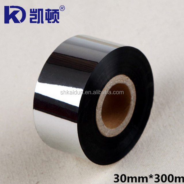 30mm*300m compatible wax ribbon for barcode printers