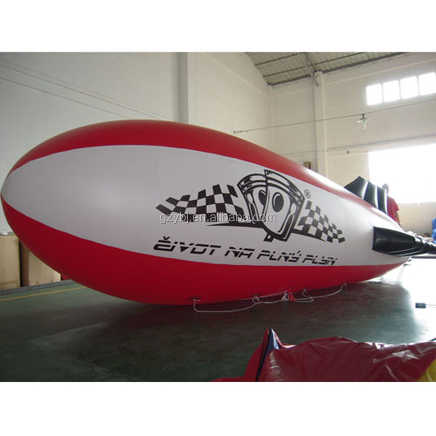 Factory supply cheap custom colourful outdoor advertising blimp