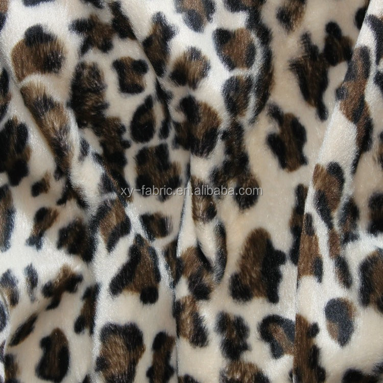 2016 popular fabric with animal printing design for toys and cushion