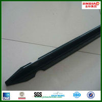 pvc coated metal steel anchor fence post