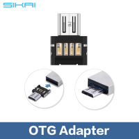 2015 Hot sale on alibaba Mini Style Micro usb to USB 2.0 OTG adapter