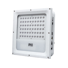 Square Outside Outdoor Waterproof Ip65 Backyard Garage Patio Petrol Pump Station 100Lm/W 100W Led Surface Mount Canopy Lights