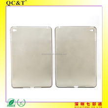 for iPad mini 4 Wholesale Soft TPU Clear Phone Case without texture
