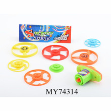 Newest Wholesale cheap spinning top with 5wheels and light