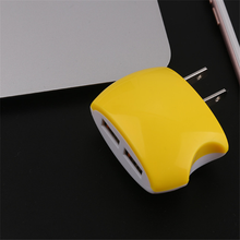 new au plug adapter 5v two usb port 2.1A 1A wall charger for mobile phone for iPhone 6/6s Plus
