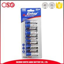 UM3 High Quality 1.5V Brand Entop king power battery
