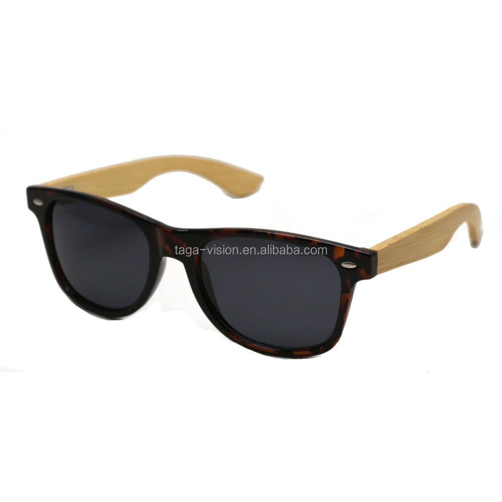 classical best selling Unisex poarized Sunglasses bamboo eyeglasses