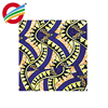 polyester African real wax printed fabric