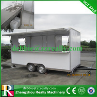 mini truck selling food/mobile food bus/bus food cart