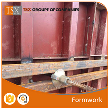 China Tianjin Manufacturer TSX-1609188 Factory price 400mm width Metal formwork for concrete/column beam wall formwork