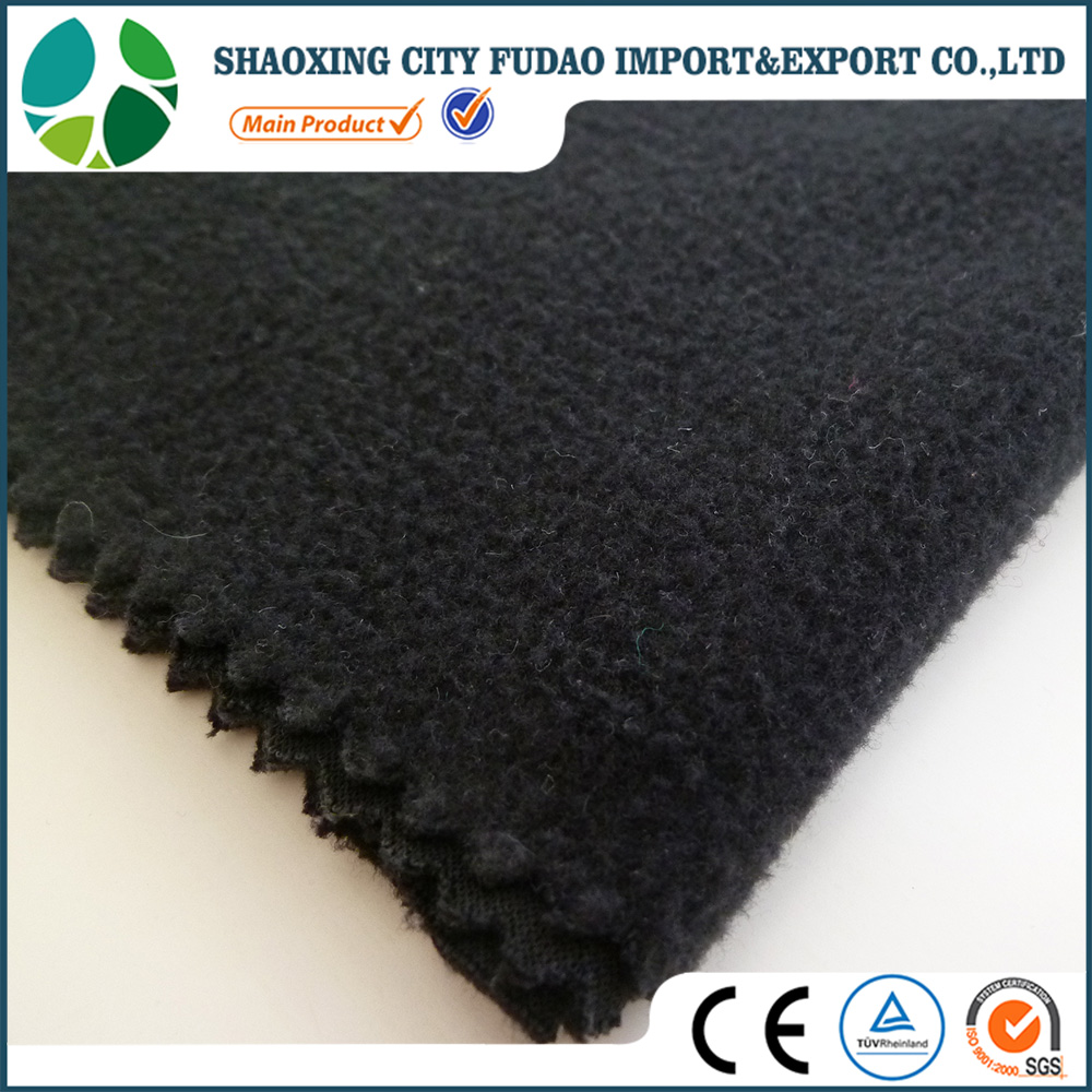 China supplier customized color 100% polyester cheap polar fleece fabric for blanket