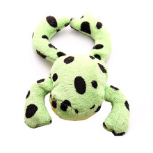 high quality BB sound stuffed animal plush frog dog pet toy