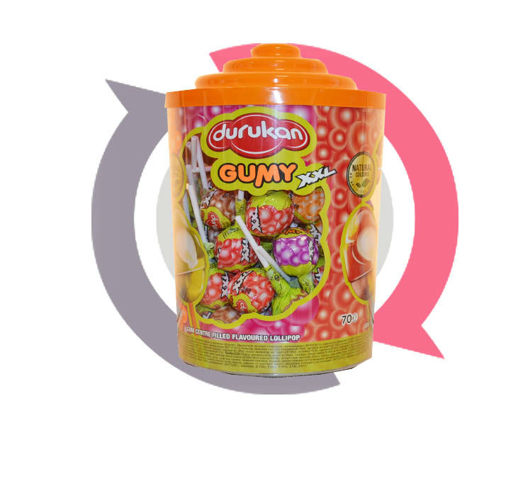 lollipop gumy xxl 70pcs
