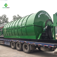 Used Plastic Rubber Machine With Pyrolysis