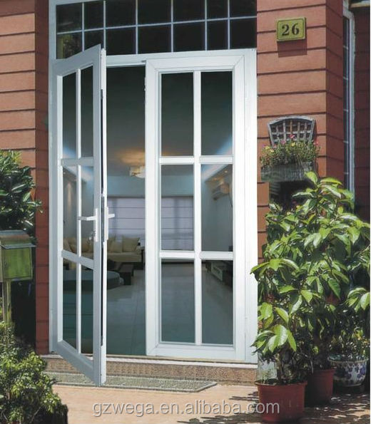 Office ,hotel,house Aluminum glass casement side hung door