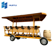 HUIYU 15 seater tourist sightseeing retro electric classic car
