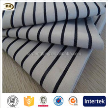 2016 new 100C stripes yarn-dyed causal shirt fabric women dress fabric