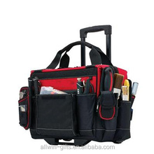 Waterproof Durable Nylon Rolling Tool Bag With Handle