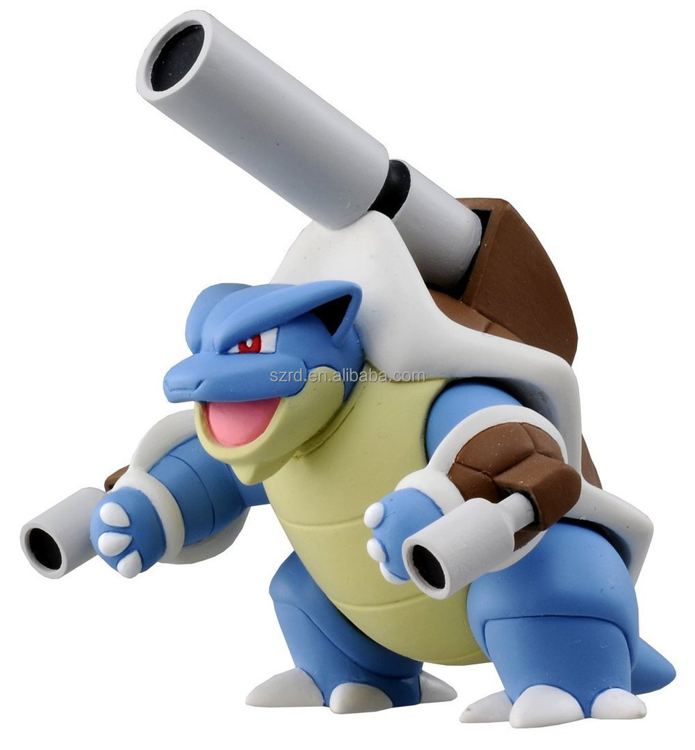 Official Pokemon X And Y Mega Blastoise Figure/real Action ...