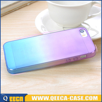 Fancy color change back cover for iPhone 5 in bulk from china