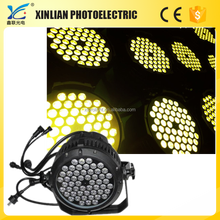 outdoor lighting rgbaw uv LED light stage for choral newest 2015 hot products 54pcs LED Full-color Waterproof Par Light