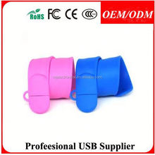bulk cheap silicone wristbands , promotional gift silicone bracelet usb memory wristband usb pendrive usb flash