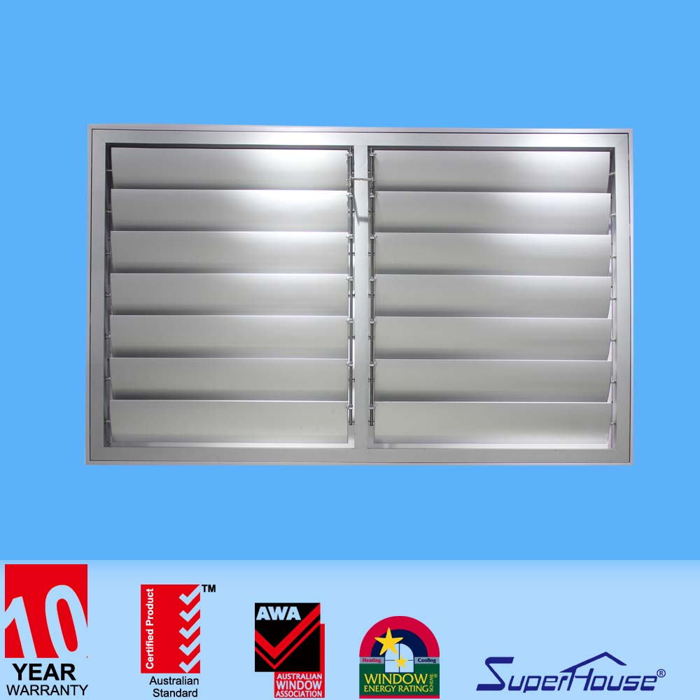 Fancy movable louvers motorized shutters comply with Australia standard