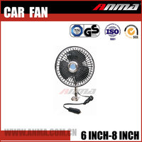 Factory DC With Clip Auto Oscillating Fan 12v car fan