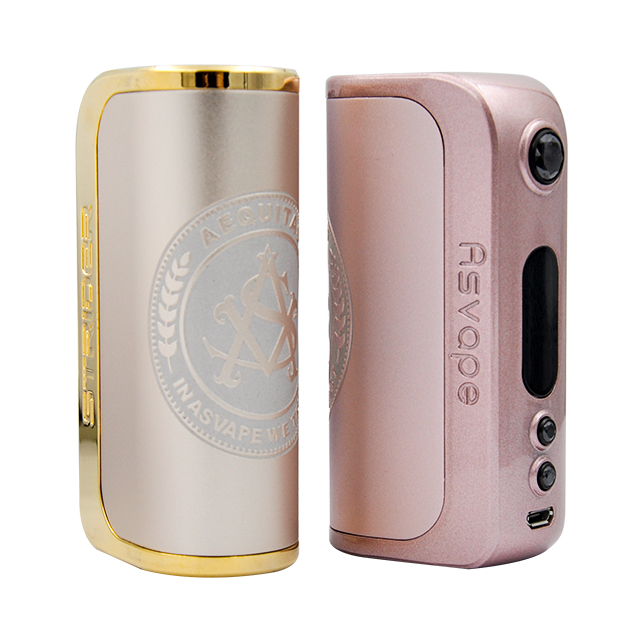 Asvape Michael VO 200W Devils Night Box Mod with 2pcs External 18650 Battery