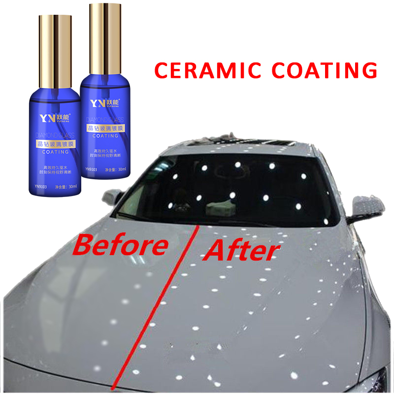 Car Body Windshield Water Repellent Nano Ceramic Glass Coating For Windshield