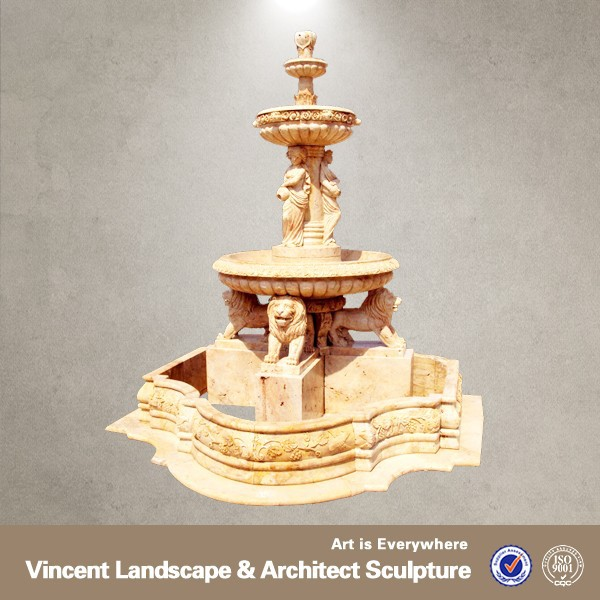 2015 high quality large stone garden water fountain, purchase now save 30% for you, only this week