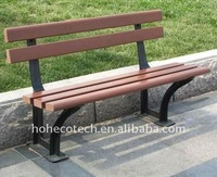 Quality warranty Wood Plastic Composite outdoor bench