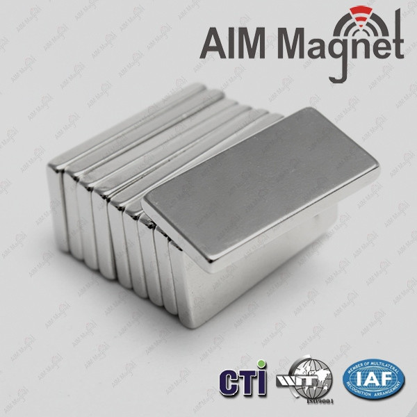 Nickel free neodymium magnet fridge magnet 10x5x2