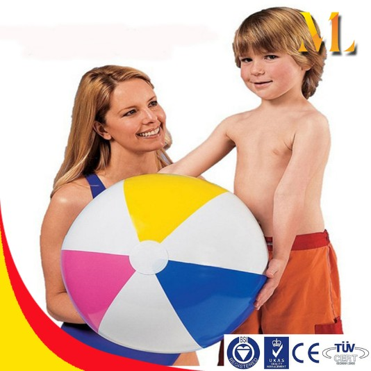 inflatable ball PVC beach ball custom logo play water toys