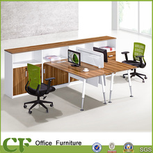Modern Commercial Furniture 2 Person Office Staff Writing Desk