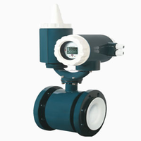 PO lining Battery-Powered Electromagnetic flow meter