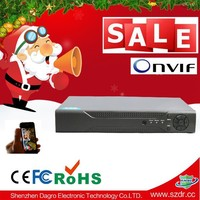 N6004-Low Cost CCTV H.264 Network Standalone DVR , 4CH Network NVR