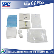 Disposable dialysis fistula on and off kit with latex examination gloves prices