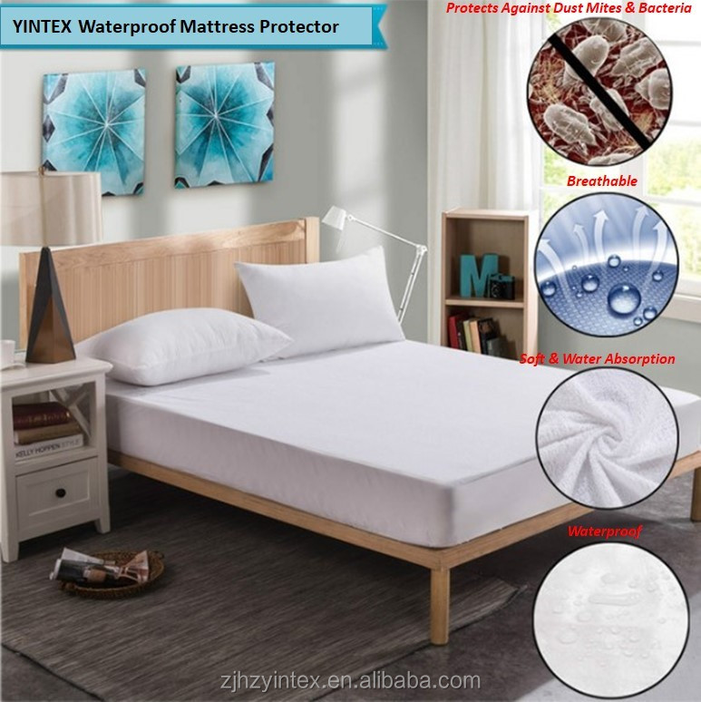 Vinyl Free Breathable Cool Flow Technology Bamboo Waterproof Bed Sheet Mattress Protector - Jozy Mattress | Jozy.net