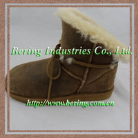 2015 new fashion leather boot manufacturer