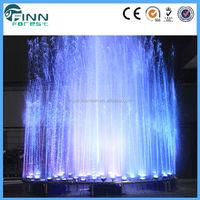 customized outdoor musical fountain solar water fountain