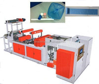 Full Auto Two-line 8-folding Coreless Roll Plastic Garbage Bag Making Machine